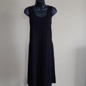 J Jill Stretch Black Dress - Size M